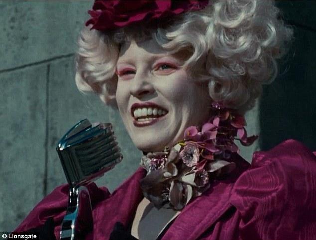 Effie Trinket from Hunger Games movie
